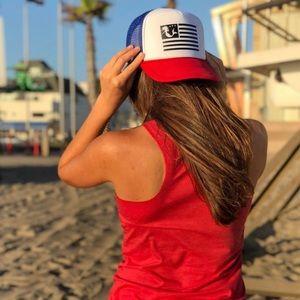 Wide cap mermaid hat